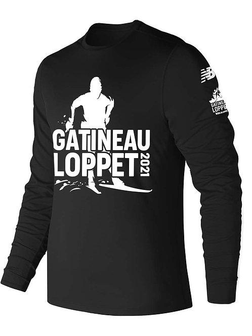 GL Long Sleeve Shirt - Men (Black)