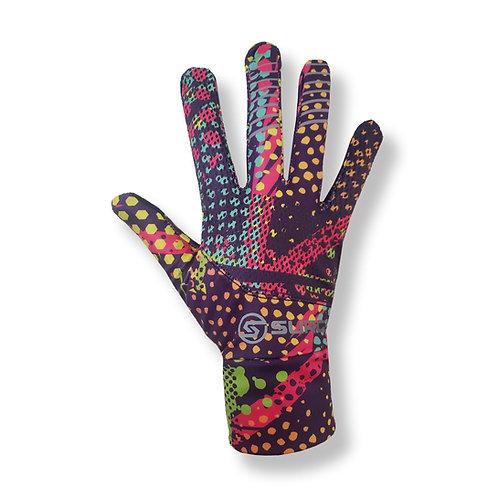 SURGE Performance Running Gloves - 80's Vibe