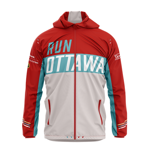 Ottawa Club Jacket - Men (Blue/Red)
