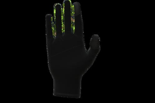 Army Running Gloves - Green