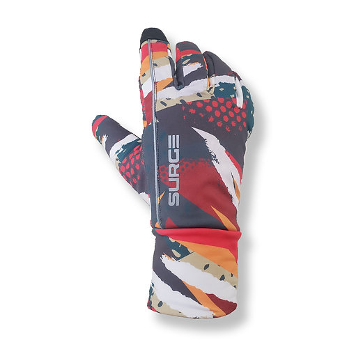 SURGE Winter Running Gloves - Painting