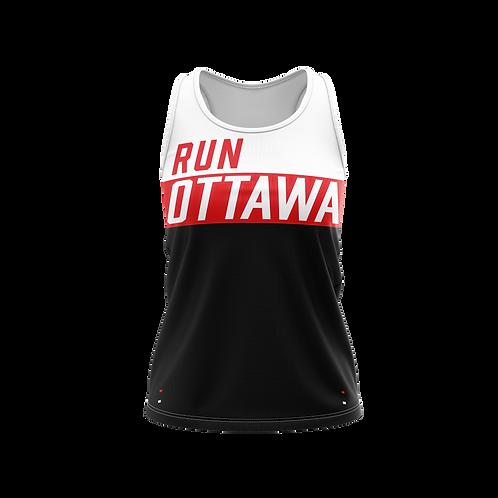 Ottawa Singlet - Men + Women (Black/Red)