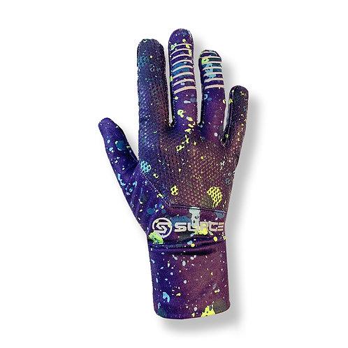 SURGE Performance Running Gloves - Purple Splat