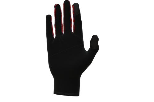 Army Running Gloves - Red