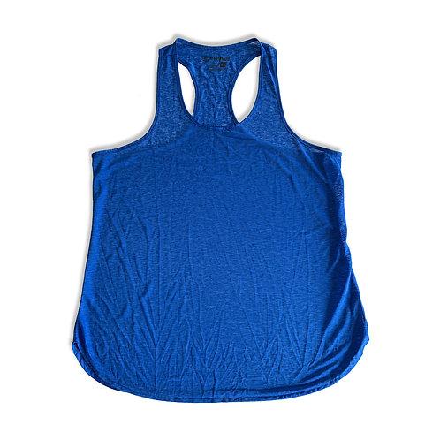Lightweight Flowy Tank (Blue) - Women's