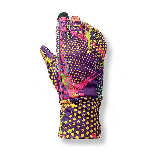 SURGE Winter Running Gloves - 80's Vibe