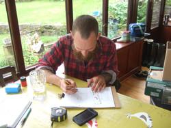 Planning the vegetable gardens