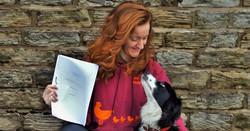 Dot McCarthy sheepdog training