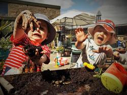 Mud fun at Cronkshaw Fold Farm