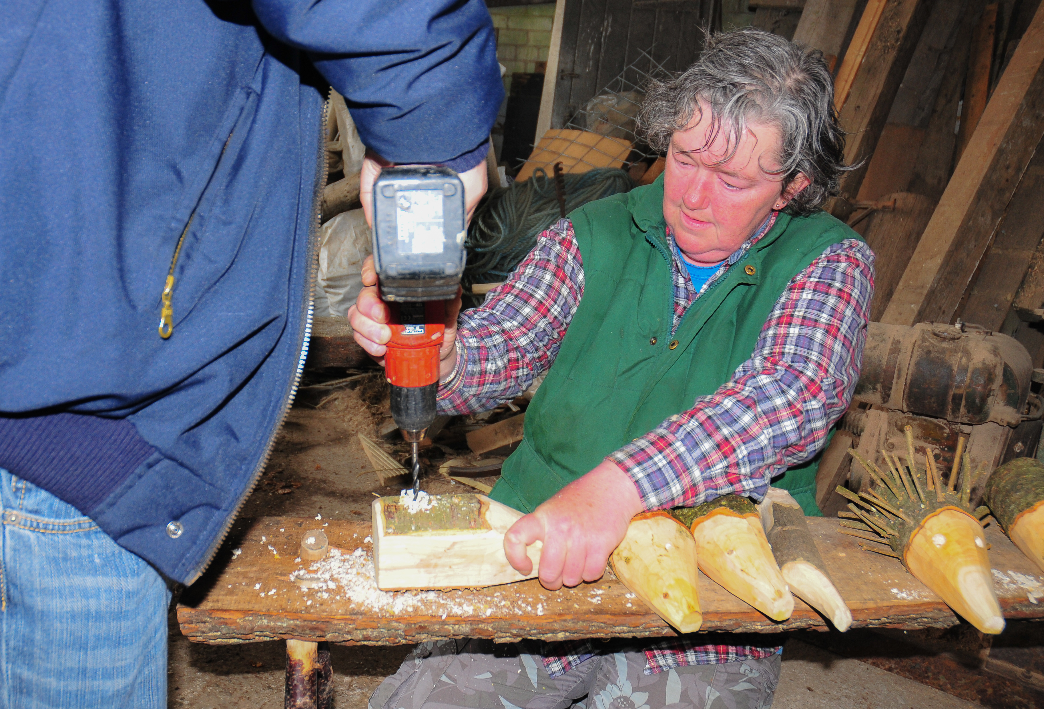 New skills at Cronkshaw Fold Farm