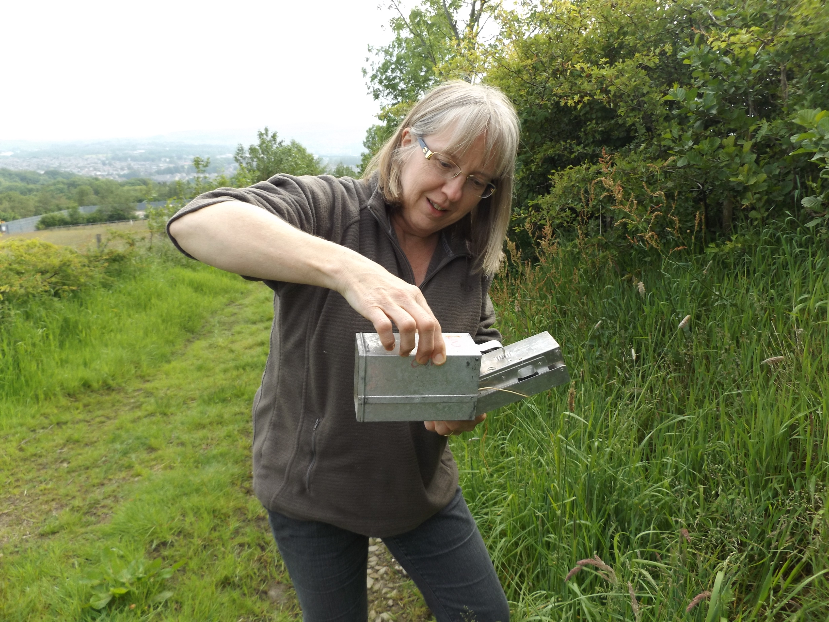 mammal trapping for conservation