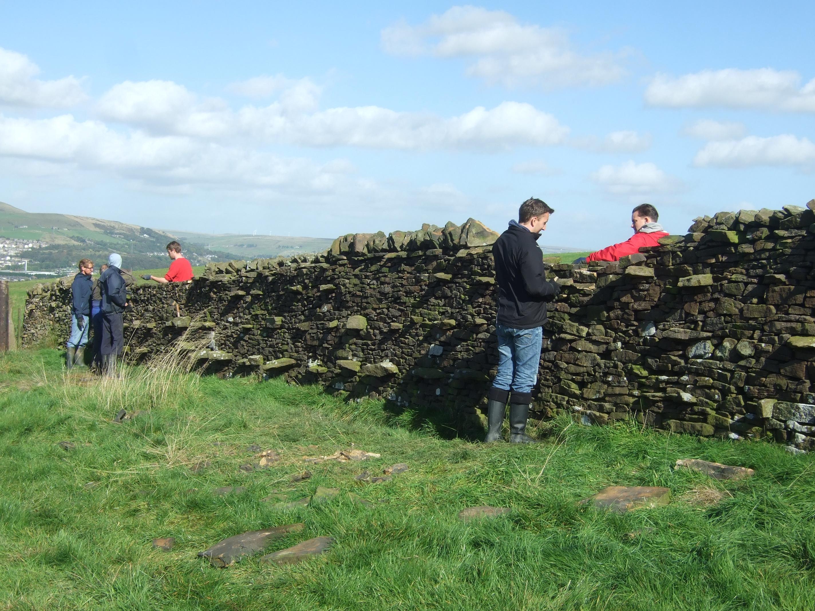 maintaining boundary lines