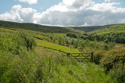 Rolling hills of the South Pennines