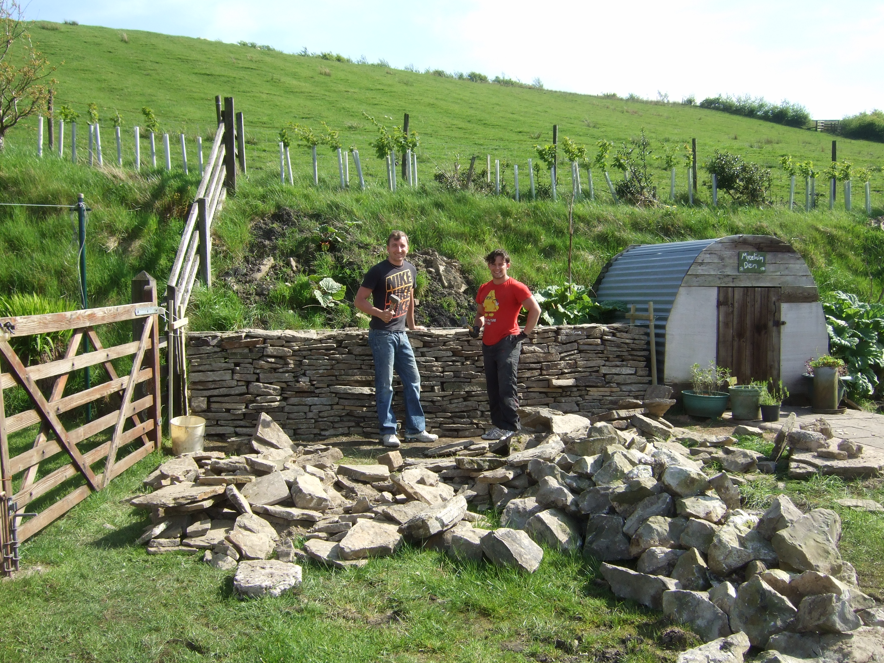 dry stone walling activities