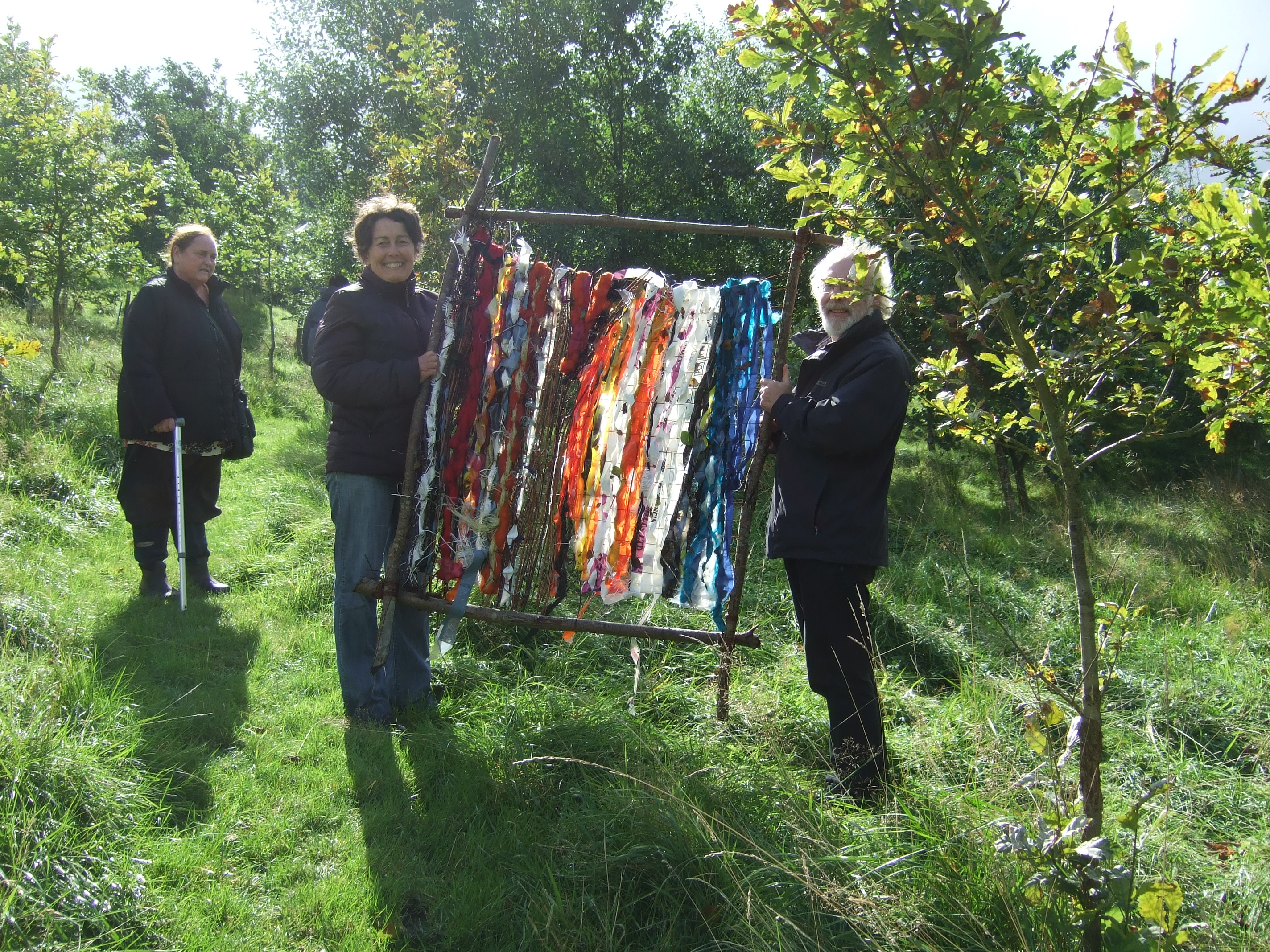 Weaving workshops at Cronkshaw Fold