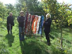 Weaving workshops at Cronkshaw Fold