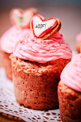 6  Large Pupcakes/ 6 Cupcake Large