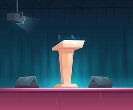 podium-tribune-with-microphones-stage-sp