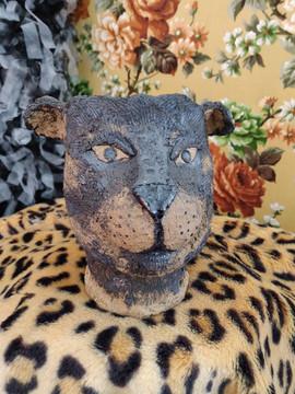 Feline fantaisies, ceramic planters, 201