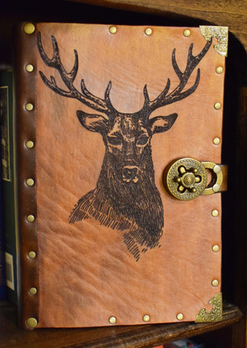Laser Cut Deer Journal