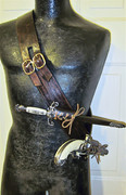 Baldric with Dagger and Pistol