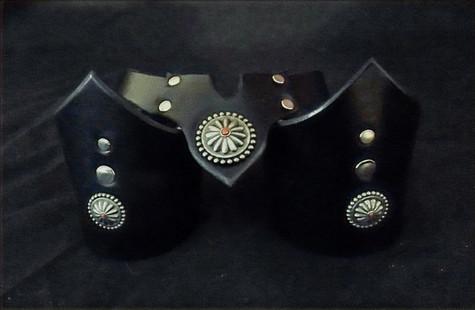 Black V-cuff & Necklace Set