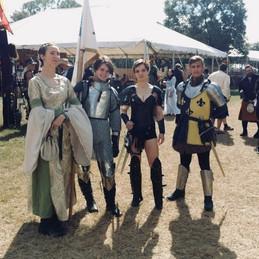 Joan of Arc & her Entourage at Sarasota.