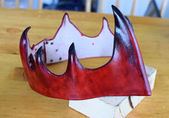Red Water-Molded Crown