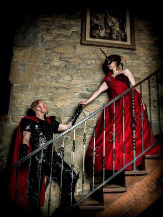 Nightwalker and Damsel