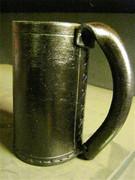 Leather Mug, Rubber Lined