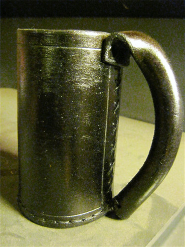 Leather Mug, Rubber Lined