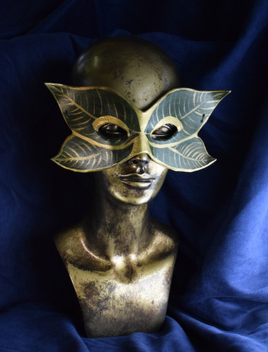 Gold-Leaf Mask