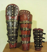 Roman Soldier Shins and Bracers
