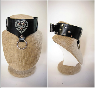 Black Heart and O-Ring Collar