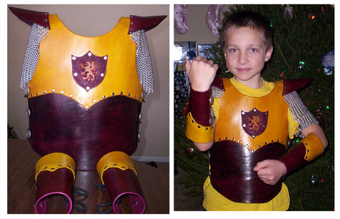 Child's Griffin Themed Breastplate