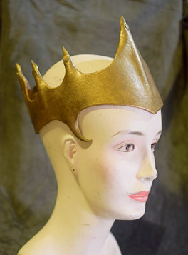 Gold Crown w Spikes