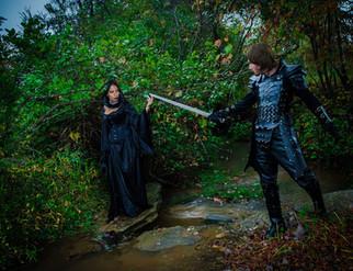 Dark Witch and Knight