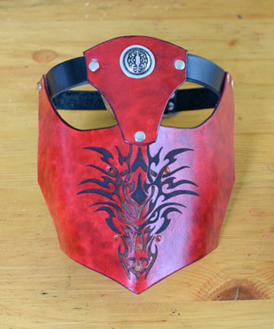 Red Dragon Visor