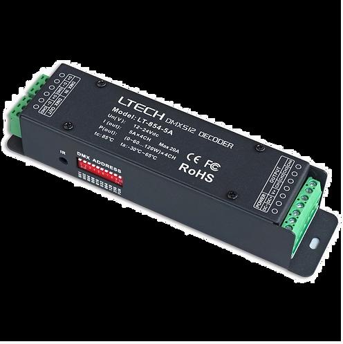 DMX-PWM Decoder LT-854-5A
