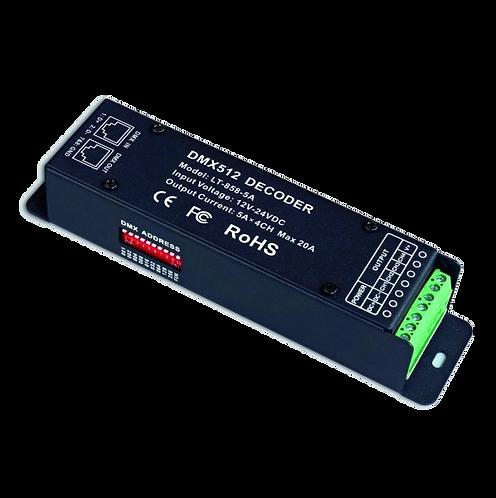 DMX-PWM Decoder LT-858-5A