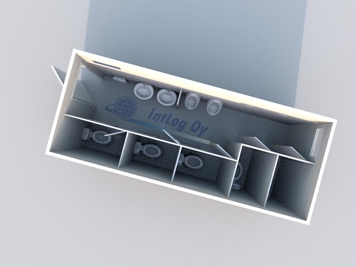 Toilet Module 1 (20')