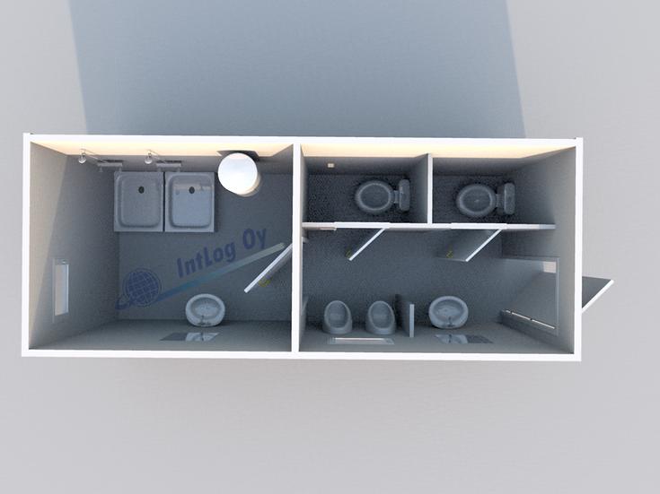 Toilet / Shower Module 1 (20')