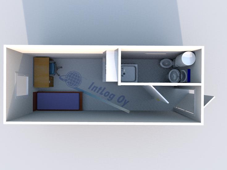 Office / Accommodation Module 2 (20')