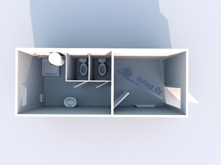 Toilet / Shower Module 2 (20')
