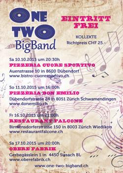 Flyer One Two Bigband 2015 hinten