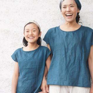 ◆ソーイングワークショップのお知らせ〜親子で着たいリネンの服〜