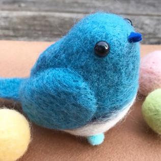 ◆3/25 はじめての羊毛フェルト〜春の小鳥を作ってみよう〜