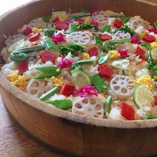 ◆2/25 大切にしたい日本食〜節句料理 雛寿司を作る〜