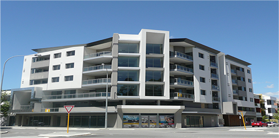Dual Commercial and Residential Apartments Complex