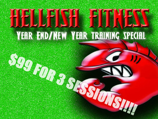 Year End/New Year Training Special!